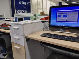 今天去新区的湘江路工业园修了个联想一体机,开机启动卡的要死